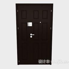 家居防盗门3d模型下载