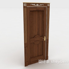欧式家居房门3d模型下载