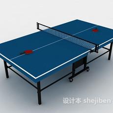 乒乓球台桌3d模型下载