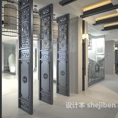 名人故居建筑3d模型下载