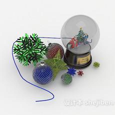 圣诞摆设品3d模型下载