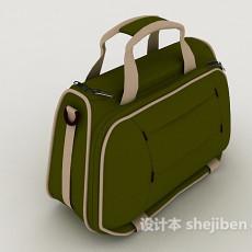 棕色手提包3d模型下载