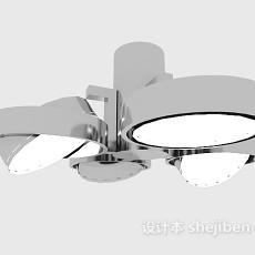 手术室灯具3d模型下载