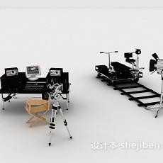 影视拍摄器材3d模型下载