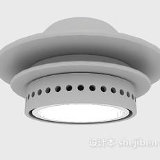 摄影射灯3d模型下载
