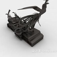 雕塑品装饰3d模型下载