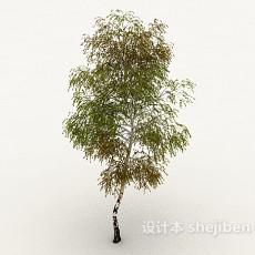 高树3d模型下载