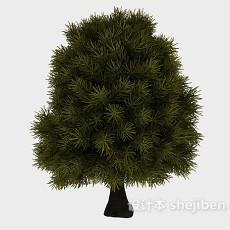 茂密大树3d模型下载