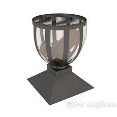 户外烤炉3d模型下载