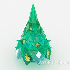 圣诞树摆设3d模型下载