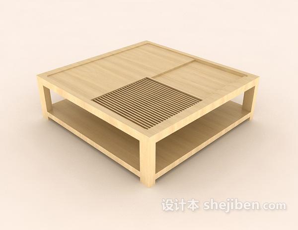日式家居餐桌