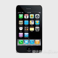 现代苹果手机3d模型下载