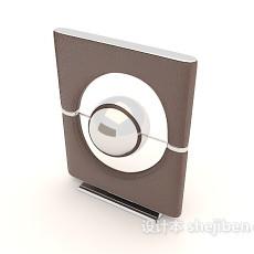 现代简约音箱3d模型下载