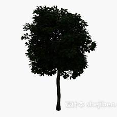 茂盛大树3d模型下载