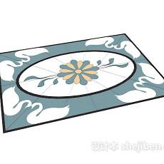 简单家居地毯3d模型下载
