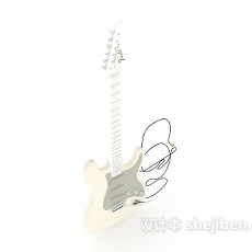 电吉他3d模型下载