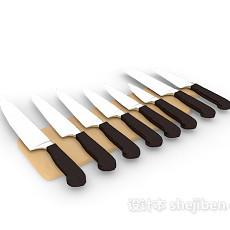 厨卫刀具3d模型下载