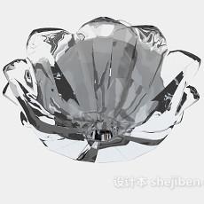 水晶器皿3d模型下载
