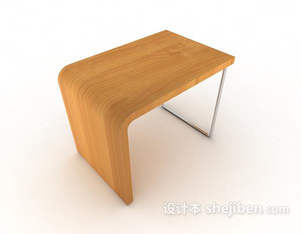 现代实木家居凳