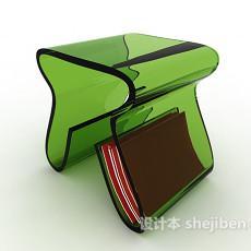 塑料多功能板凳3d模型下载