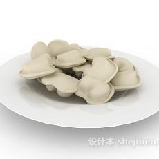 水晶饺子3d模型下载