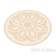 花朵地毯3d模型下载