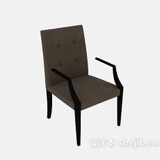 简约单人椅3d模型下载