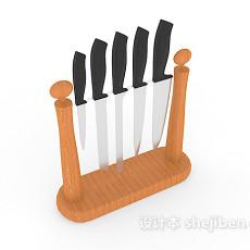 厨房刀具3d模型下载