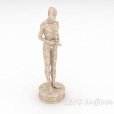 石雕摆设3d模型下载
