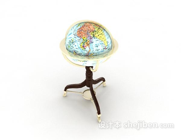 欧式落地地球仪