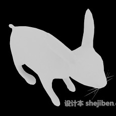 兔子玩具3d模型下载