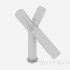 卫生间个性水龙头3d模型下载