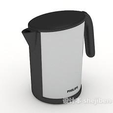 简单水壶3d模型下载