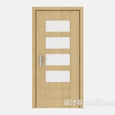 简单家居房门3d模型下载