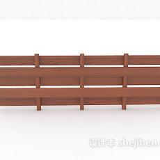 庭院栏杆3d模型下载