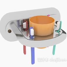 浴室洗漱品小件3d模型下载