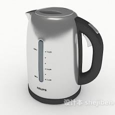 居家电热水壶3d模型下载