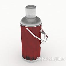 老式热水壶3d模型下载