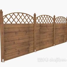 实木栏杆3d模型下载