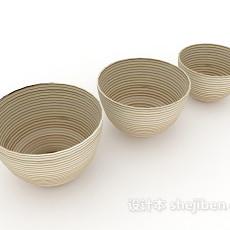 碗具3d模型下载