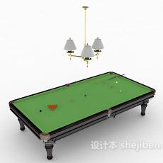休闲桌球3d模型下载