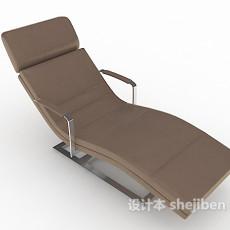 家庭单人休闲椅3d模型下载