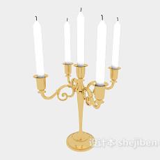 餐桌烛台灯3d模型下载