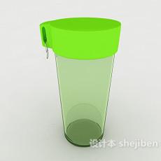 塑料水杯3d模型下载
