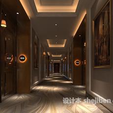 高级酒店宾馆3d模型下载