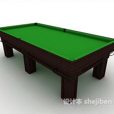 娱乐桌球台3d模型下载