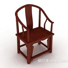 新中式家居家居椅3d模型下载
