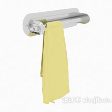 毛巾挂件3d模型下载