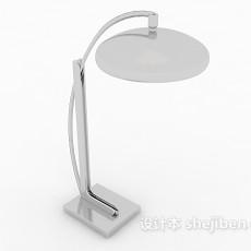 灰色书房台灯3d模型下载