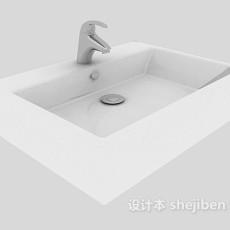 简单洗手池3d模型下载